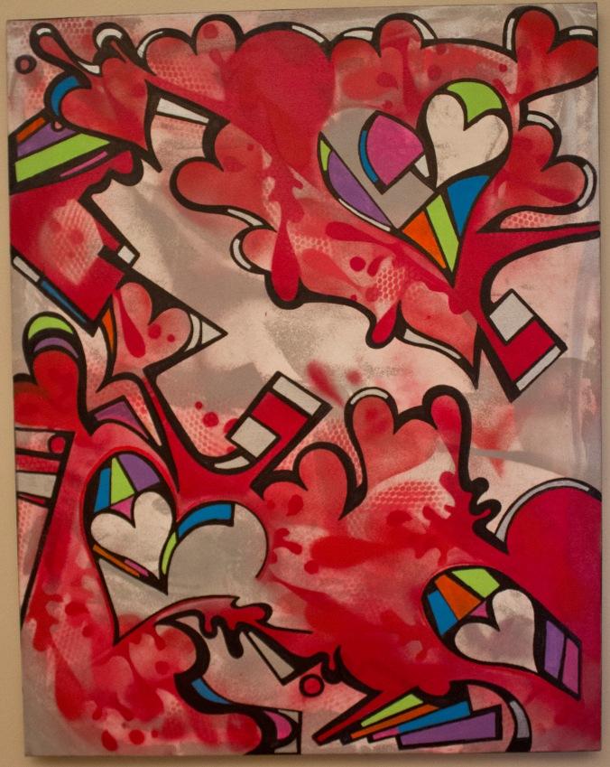 Roman Kisses - 28 x 22 - $250